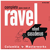 Casadesus Plays Piano Music of Ravel de Robert Casadesus