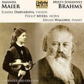 Amanda Maier Meets Johannes Brahms von Various Artists