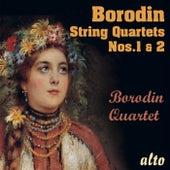 Borodin String Quartets Nos. 1 & 2 de Borodin Quartet