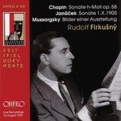 Chopin, Janáček & Mussorgsky: Works for Piano (Live) de Rudolf Firkušný