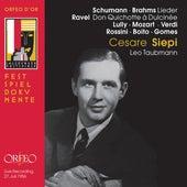 Schumann & Brahms: Lieder - Ravel: Don Quichotte à Dulcinée, M. 84 (Live) de Cesare Siepi