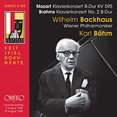 Mozart & Brahms: Piano Concertos (Live) by Wilhelm Backhaus