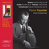 Brahms, Kodály, Debussy & Tchaikovsky: Works for Cello (Live) de Pierre Fournier