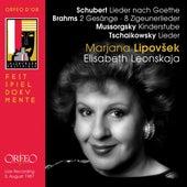 Schubert, Brahms & Mussorgsky: Lieder (Live) by Marjana Lipovšek
