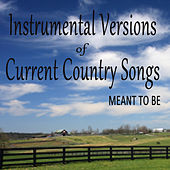 Instrumental Versions of Current Country Songs: Meant To Be de Steve Petrunak