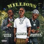 Millions (feat. Gucci Mane & Hoodrich Pablo Juan) von Zmoney
