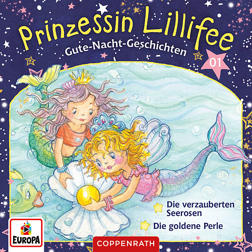 001/Gute-Nacht-Geschichten Folge 1+2 - Die verzauberten Seerosen/Die goldene Perle von Prinzessin Lillifee