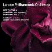 Beethoven: Symphonies Nos. 3 & 5 de Kurt Masur
