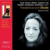 Lieder (Live) von Frederica Von Stade