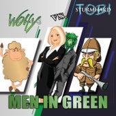 Men in Green (Wolfy / Susi Schaf vs. Tobi / Sturmhard) by Kim Jens Witzenleiter