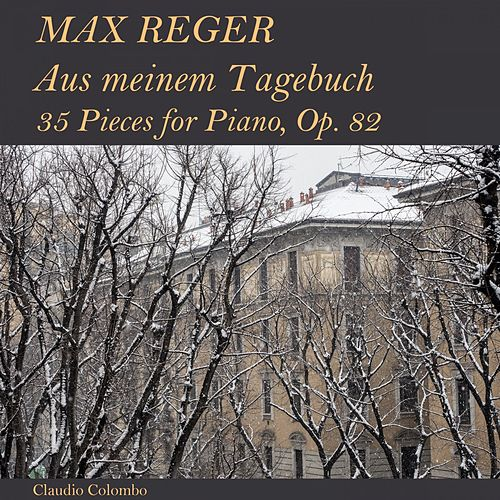 Max Reger: Aus meinem Tagebuch - 35 Pieces for Piano, Op. 82 by Claudio Colombo