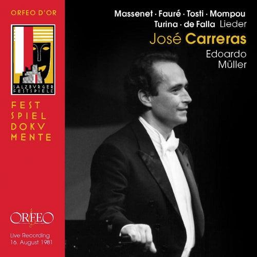 Massenet, Fauré, Falla & Others: Art Songs (Live) von José Carreras