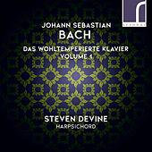 J.S. Bach: Das Wohltemperierte Klavier (The Well-Tempered Clavier), Volume 1 de Steven Devine