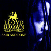 Said And Done by Lloyd Brown