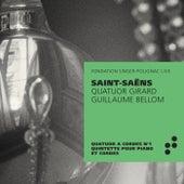Saint-Saëns: Quatuor à cordes No. 1 - Quintette avec piano (Recorded Live at Fondation Singer-Polignac) von Quatuor Girard