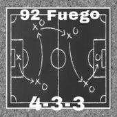 4-3-3 de 92 Fuego