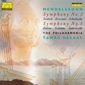 Mendelssohn: Symphonies No. 3 & 4 von Tamás Vásáry