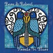 Hearts in Blues by Bear