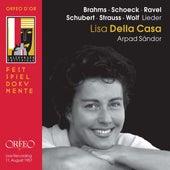 Brahms, Schubert, R. Strauss & Others: Art Songs (Live) de Lisa della Casa