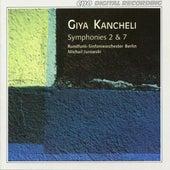 Giya Kancheli: Symphonies Nos. 2 & 7 de Rundfunk-Sinfonieorchester Berlin