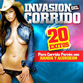 Invasion Del Corrido 20 Exitos Con Banda y Acordeon de Various Artists