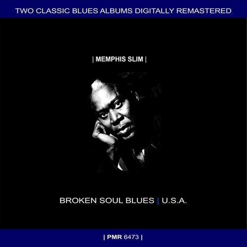 Two Originals: Broken Soul Blues & U.S.A. de Memphis Slim