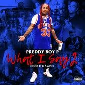 What I Say, Vol. 2 by Preddy Boy P