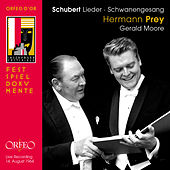 Schubert: Lieder (Live) by Hermann Prey