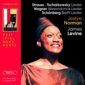 Strauss, Tchaikovsky, Wagner & Schoenberg: Lieder (Live) de Jessye Norman