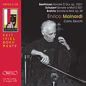 Beethoven, Schubert & Brahms: Works for Cello & Piano (Live) by Enrico Mainardi
