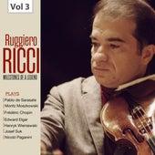 Milestones of a Legend: Ruggiero Ricci, Vol. 3 de Ruggiero Ricci