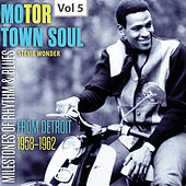 Milestones of Rhythm & Blues: Motor Town Soul, Vol. 5 de Stevie Wonder