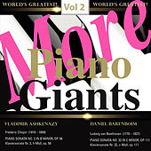 More Piano Giants: Vol. 2, Vladimir Ashkenazy & Daniel Barenboim von Various Artists