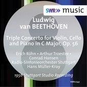 Beethoven: Triple Concerto, Op. 56 (Live) de Erich Röhn
