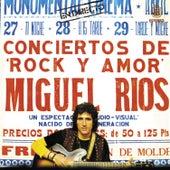 Conciertos de Rock y amor (En directo) de Miguel Rios