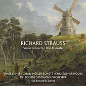 Richard Strauss: Violin Concerto / Don Quixote by James Ehnes