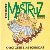 Boi Zebu e as Formigas de Mastruz Com Leite
