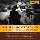 Mstislav Rostropovich In Moscow - Original Recordings de Various Artists