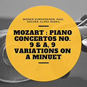 Mozart : Piano Concertos No. 9 & A, 9 Variations On a Minuet von Various Artists