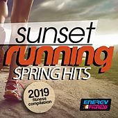 Sunset Running Spring Hits 2019 Fitness Compilation (15 Tracks Non-Stop Mixed Compilation for Fitness & Workout - 128 Bpm) by Various Artists