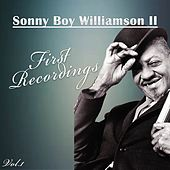 First Recordings, Vol. 1 de Sonny Boy Williamson II