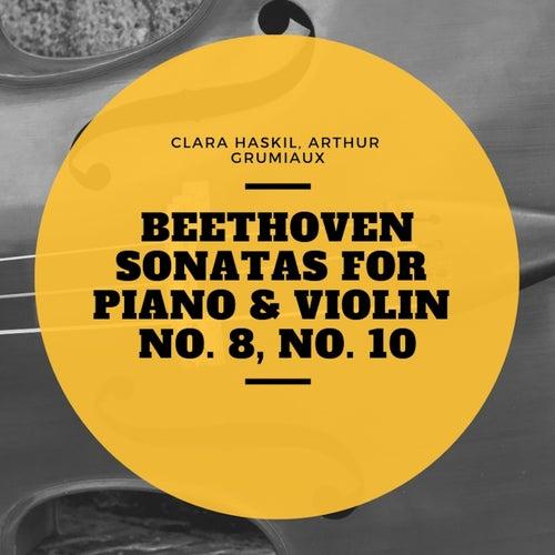 Beethoven Sonatas for Piano & Violin No. 1, No. 4 de Clara Haskil