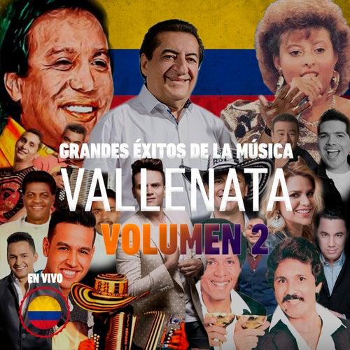 Grandes Éxitos de la Música Vallenata, en Vivo, Vol. 2 de Diomedes Diaz