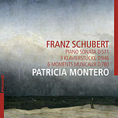 Schubert: Piano Sonata D. 571, 3 Klavierstücke D. 946 & 6 moments musicaux D. 780 von Patricia Montero
