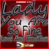 Lady You Are So Fine Love And Emotion de DJ Dangerous Raj Desai