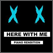 Here With Me (Piano Rendition) di The Blue Notes