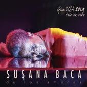 De los Amores. Gira Usa 2019. Trío en Vivo de Susana Baca