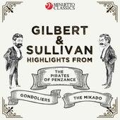 Gilbert & Sullivan: Highlights from: The Pirates of Penzance, The Mikado & The Gondoliers von Hamburg Radio Symphony Orchestra