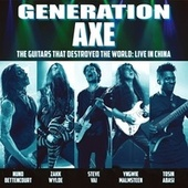 Generation Axe: Guitars That Destroyed That World (Live in China) de Various Artists