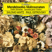 Mendelssohn: Violin Sonata in F Major, MWV Q12 - Sonata in F Major for Violin and Piano, MWV Q26 de Shlomo Mintz